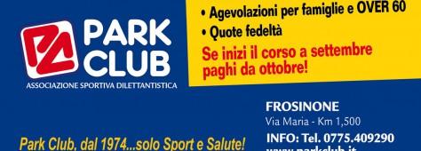 L'A.s.d. PARK CLUB RIPARTE CON L'ATTIVITA' SPORTIVA 2014-2015