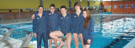 Campionati Italiani Giovanili di Nuoto 2015 – La carica degli atleti del Park Club